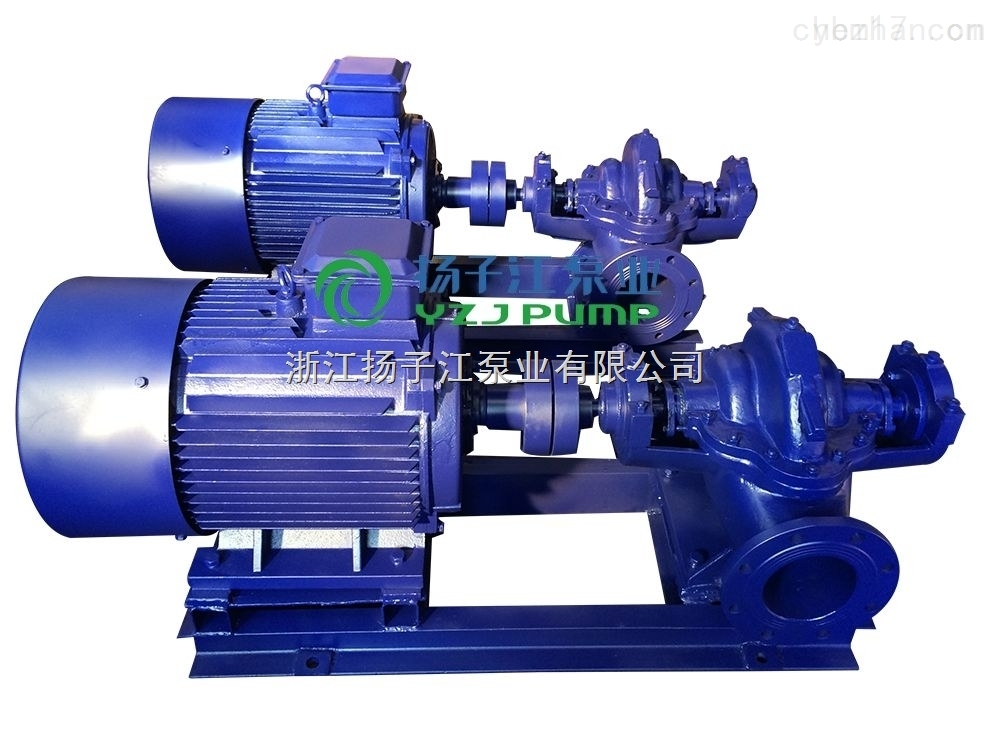 S SH型--S SH型单级双吸离心泵 农田排灌泵 卧式中开泵 大流量清水泵