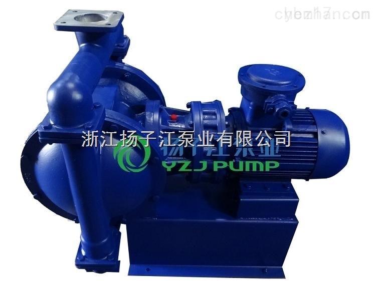 厂家直供DBY-40不锈钢电动化工隔膜泵,316L材质耐腐蚀不锈钢电动隔膜泵