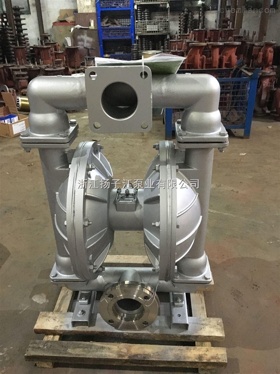 供应气动隔膜泵 QBY-100不锈钢316P气动隔膜泵