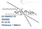 DT-PDPP2T-TT/OS0300有机离子交换膜 加拿大1-material DT-PDPP2T-TT/OS0300/FF=0.74