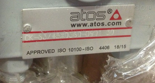 意大利ATOS油缸中国指定代理商