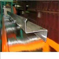 Q235   Q345四平镀锌槽钢价格 镀锌U型钢价格 镀锌Z型钢价格
