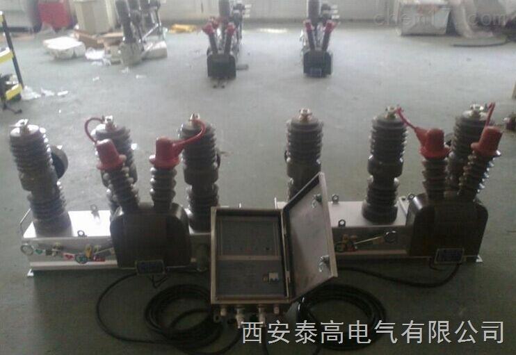 檢驗合格戶外10kx高壓雙電源自動切換開關HZW32-12型