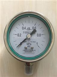 YTN-60B耐震压力表0-1Mpa