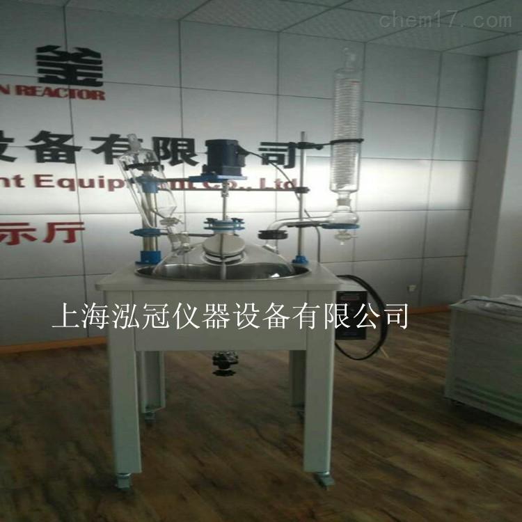 专业生产单层玻璃反应釜 玻璃反应釜