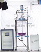 安晟GSF-20L双层玻璃反应釜(出口型)