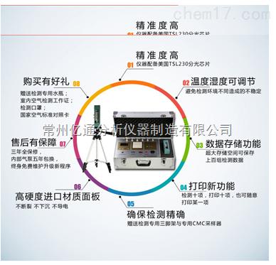 十合一家用室内空气质量检测试仪