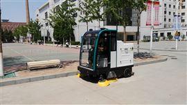 全封閉電動駕駛式清掃車清掃樹葉沙子粉塵用電動駕駛式掃地機