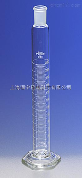 美国PYREX具塞量筒 玻璃量筒