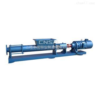G35-1高粘度螺杆泵-料斗式螺杆泵