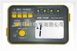 VC60D+绝缘电阻测试仪造型
