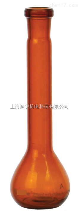 美国KIMBLE AP棕色容量瓶Class A带PE塞