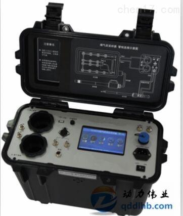 环保局常监测烟道气中气态汞浓度烟气汞采样器安装使用说明书