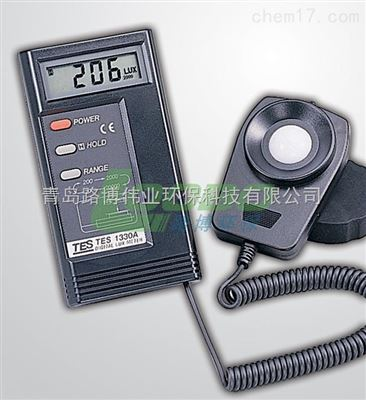 数字式照度计TES-1330A/TES-1332A/TES-1334A中国台湾泰式代理厂家