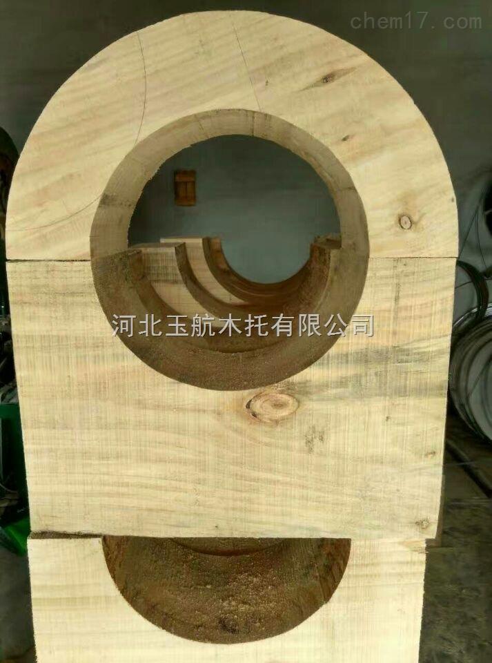 特价防腐管道木托*空调木哈夫厂家