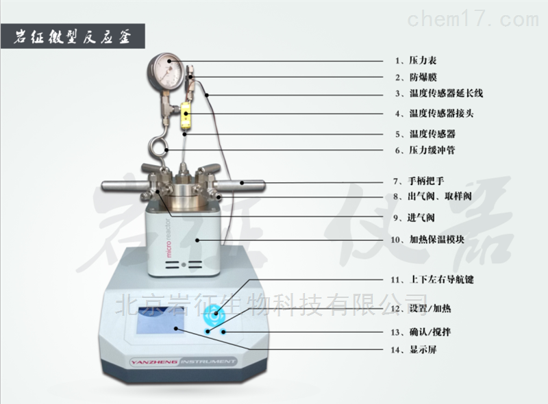 YZPR-100小型反應釜