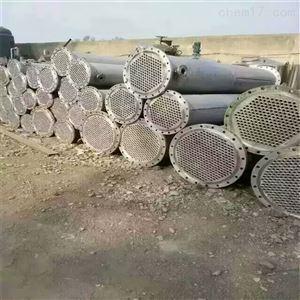 长期供应二手不锈钢列管式冷凝器