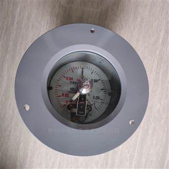 YTX-100B軸向帶邊防爆電接點壓力表