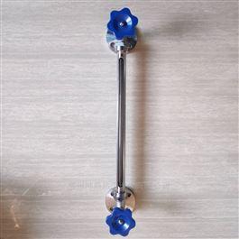 HG-5法兰连接不锈钢保护套玻璃管液位计