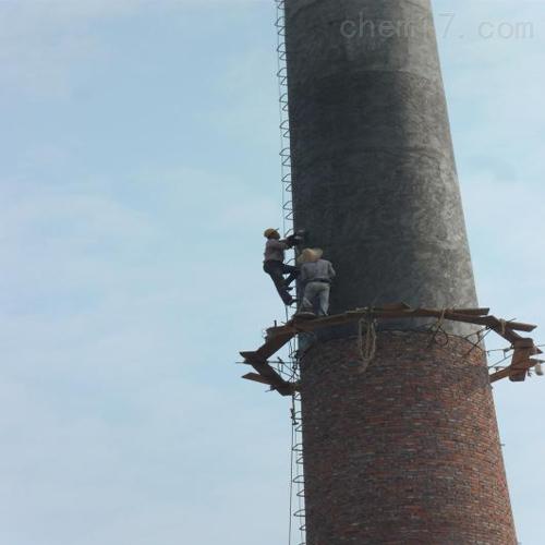铜山县烟囱刷漆烟筒画画施工——钢结构烟筒
