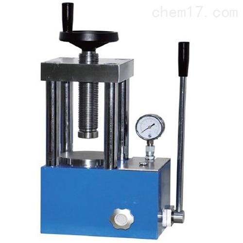 实验室手动液压压片机选配带防护