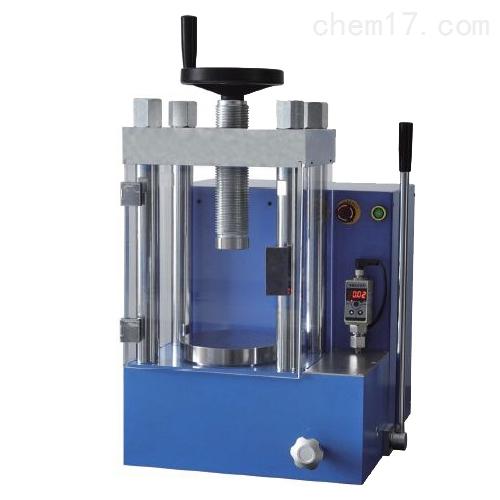 60吨手动电动一体数显粉末压片机