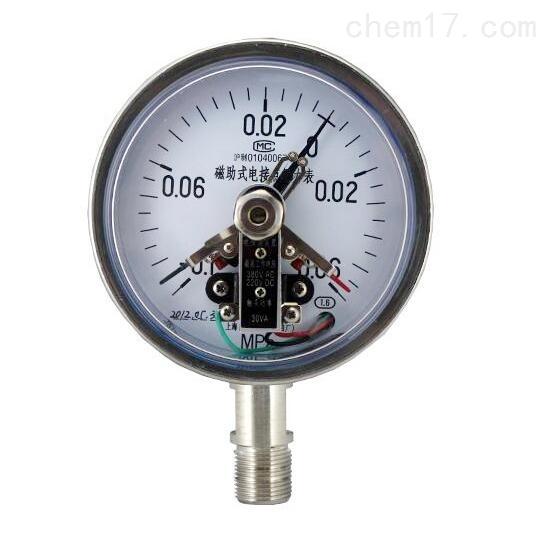 YXC-150 B-F磁助电接点压力表