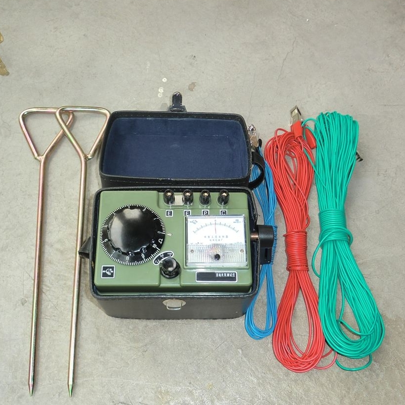 异频法接地电阻测试仪/手摇式/电子式