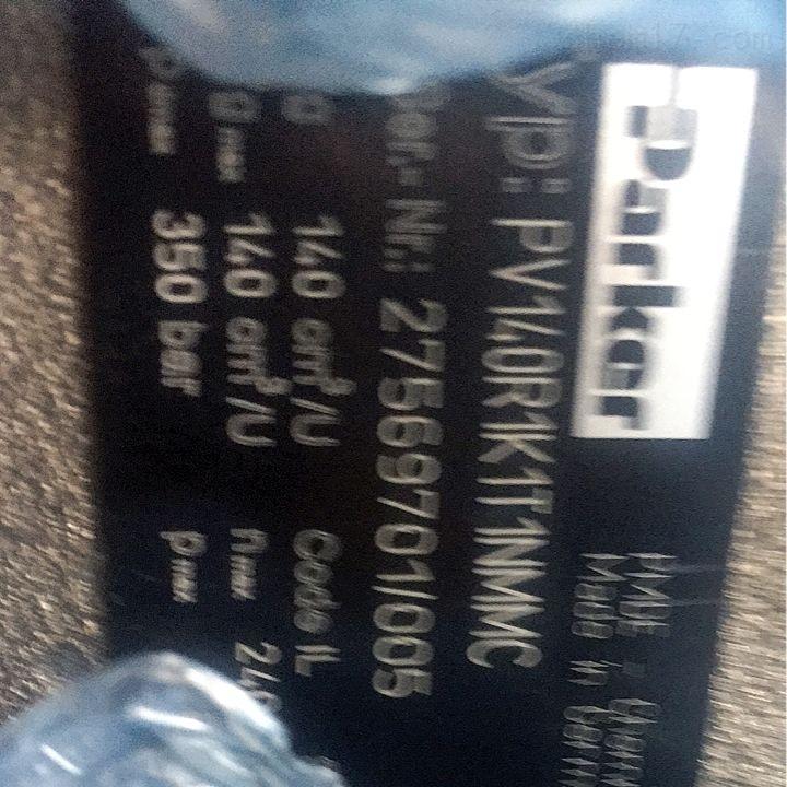 Parker派克PV柱塞泵PV140R1K1T1NMMC现货