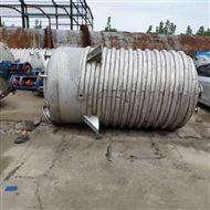 回收闲置二手5吨外盘管反应釜