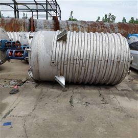 二手5吨外盘管反应釜市场价