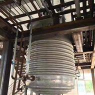 二手3吨外盘管反应釜供应商
