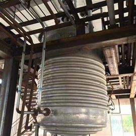 大量出售二手3吨外盘管反应釜