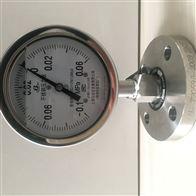 Y-60BFZ/MC卫生型隔膜压力表