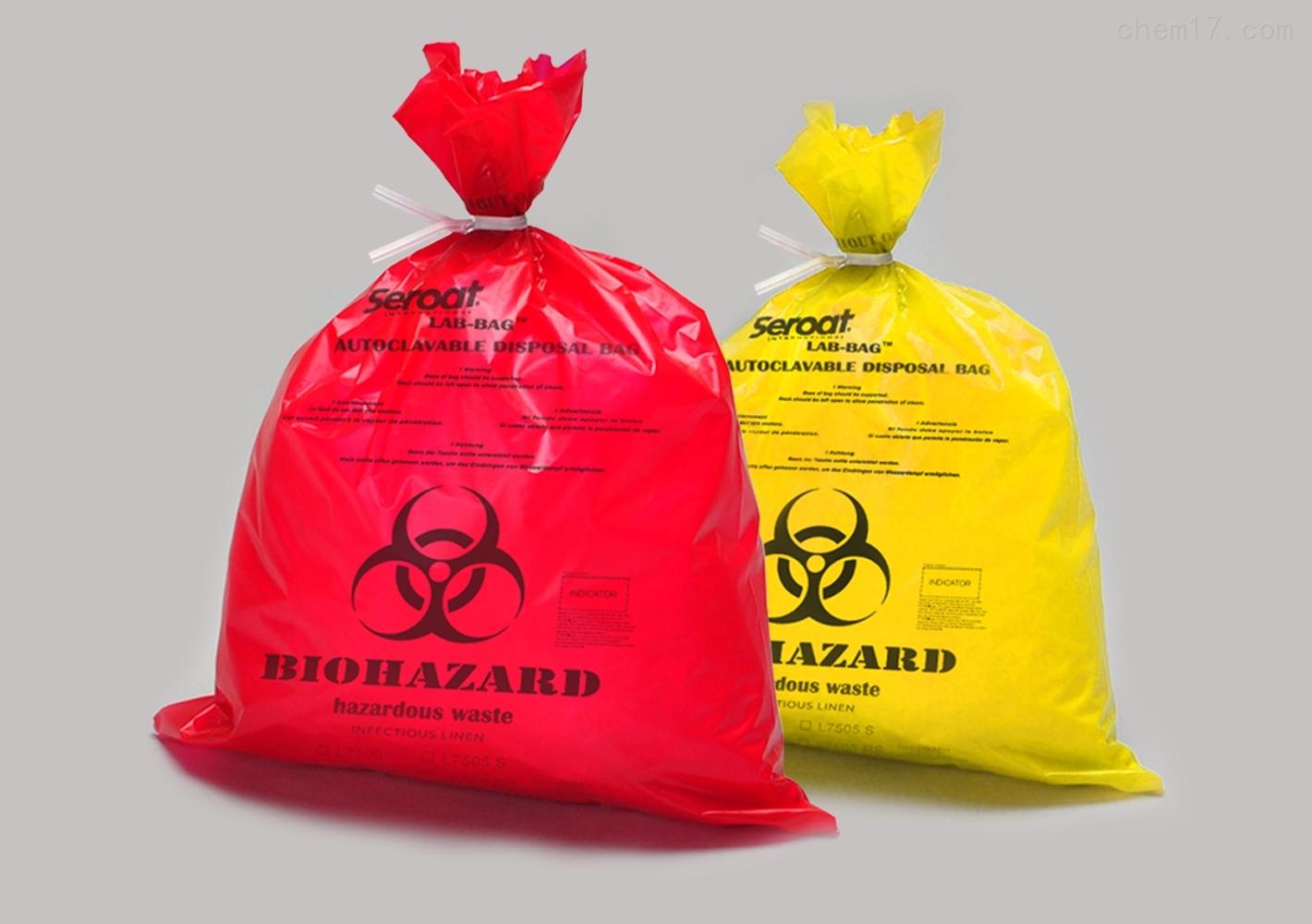 美国Seroat Lab-BagL75系列高压灭菌袋橘红
