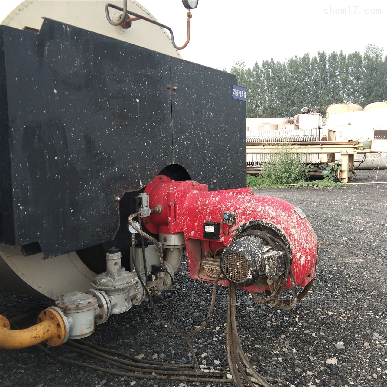 高价回收2吨燃气锅炉