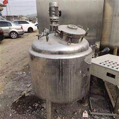 二手100升蒸汽加热不锈钢搅拌罐