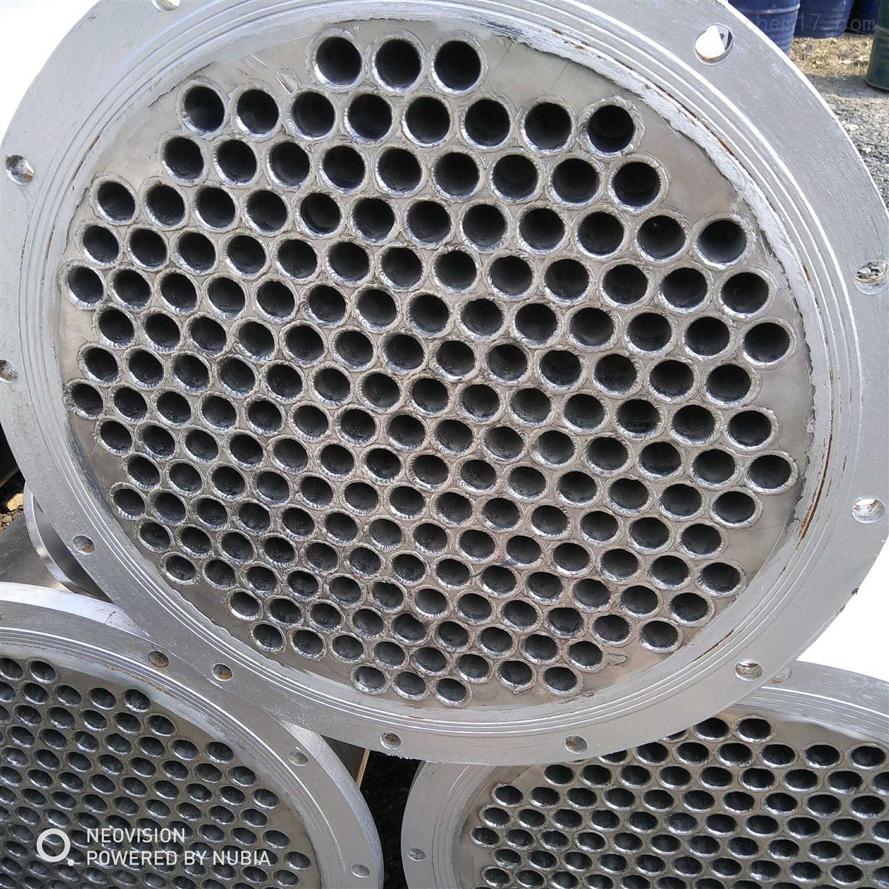 高价回收二手不锈钢列管冷凝器厂家