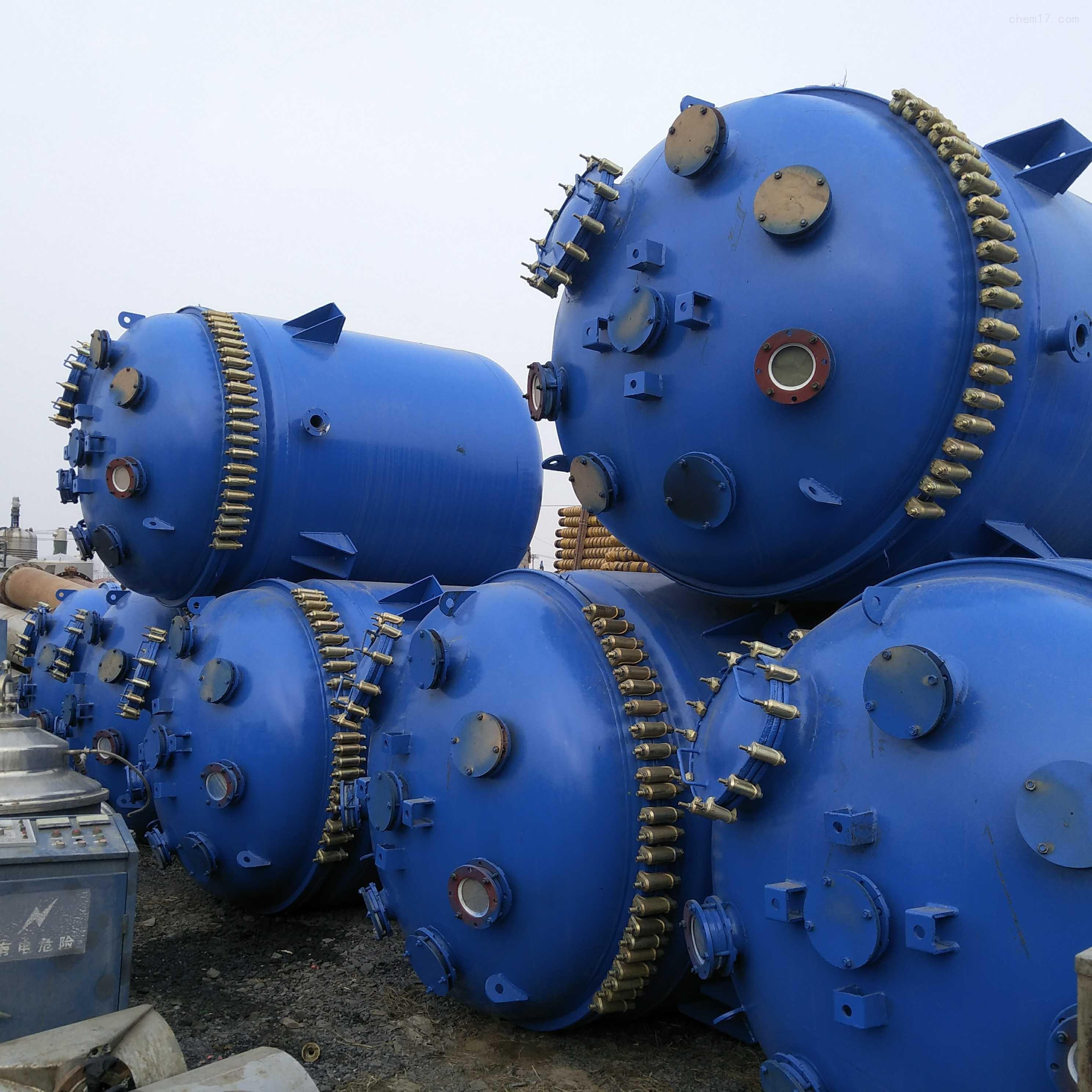 低价出售二手搪瓷反应釜设备厂家价格