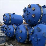 反应釜1吨2T6.3T低价出售二手搪瓷反应釜设备厂家价格