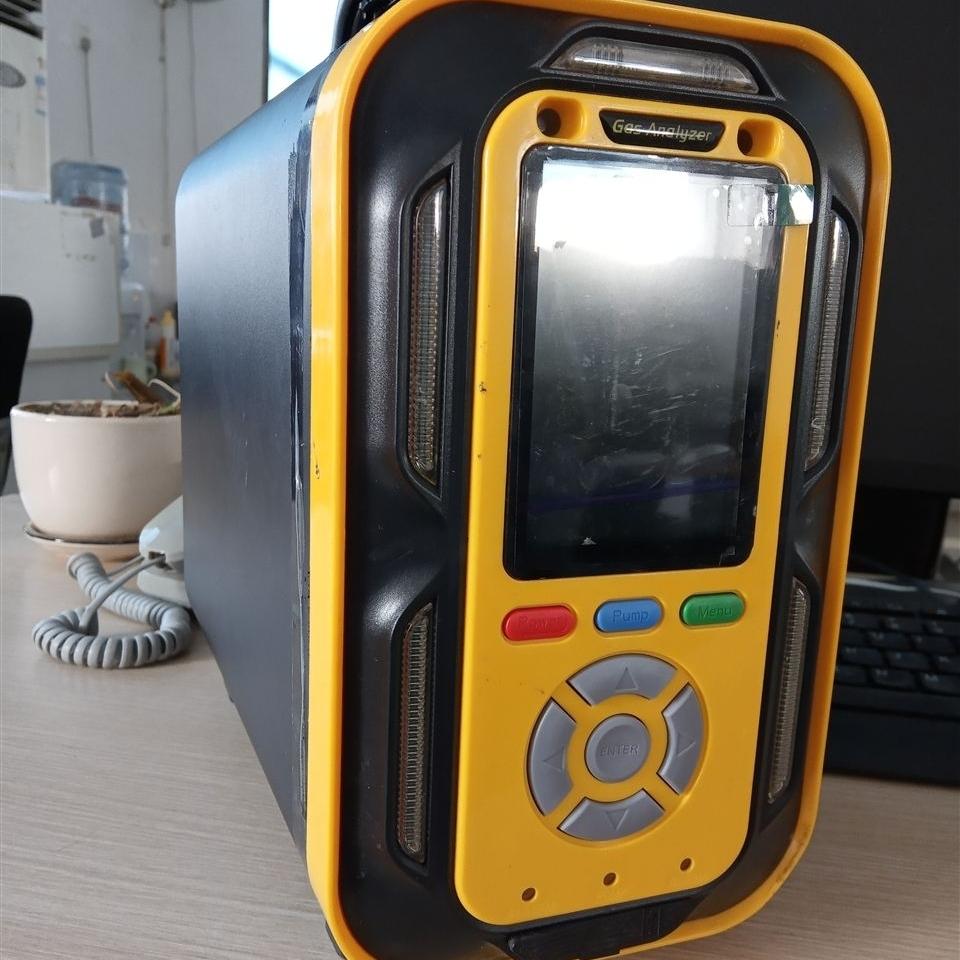 泵吸手提式六合一气体分析仪