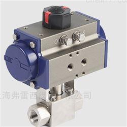 气动高压球阀 用于截断或接通管路中的介质