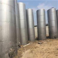二手30立方乳品厂饮料厂发酵不锈钢储罐出售