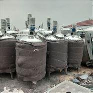 二手1吨电加热不锈钢搅拌罐
