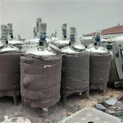 二手500升双层不锈钢搅拌罐