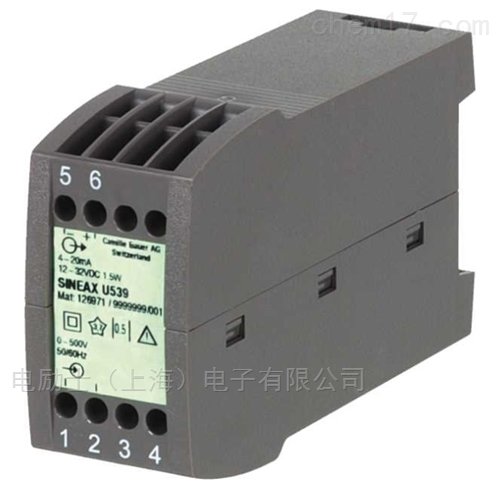 单功能电压变送器SINEAX U539