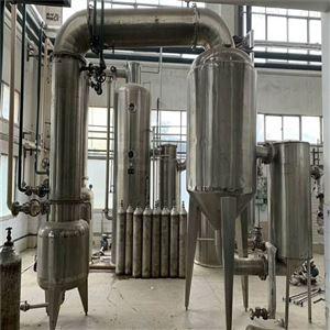 大量出售二手三效降膜蒸发器