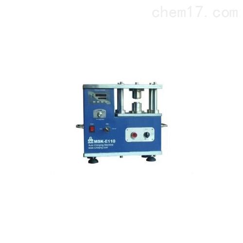 压力可控电动扣式电池封装机