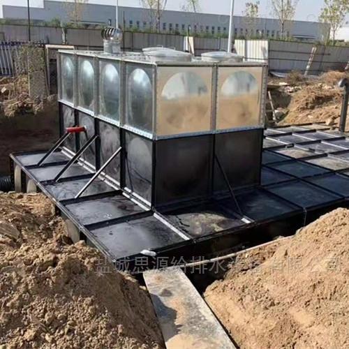 抗浮地埋式消防给水设备沟槽需要清理