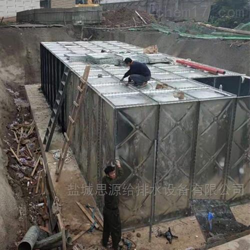 地埋式消防水箱的优势在哪?